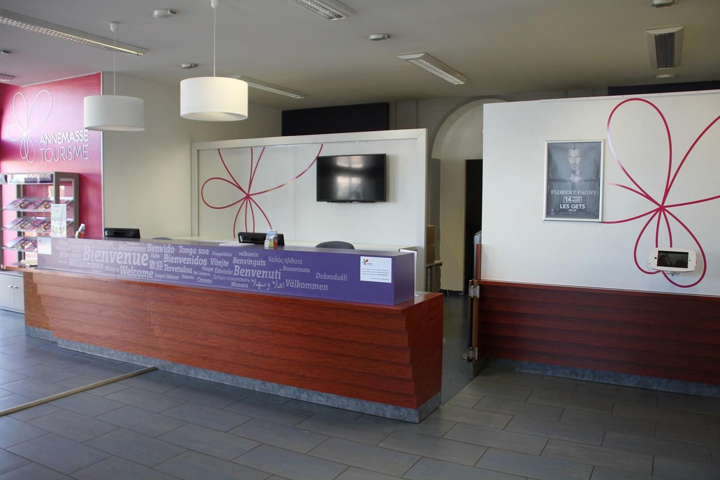Bureaux d 39 entreprises cb architecture d 39 int rieur en haute savoie et savoie - Office tourisme annemasse ...